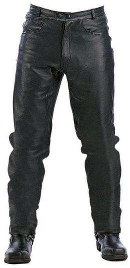 Men Leather Pants (Available Online Only)