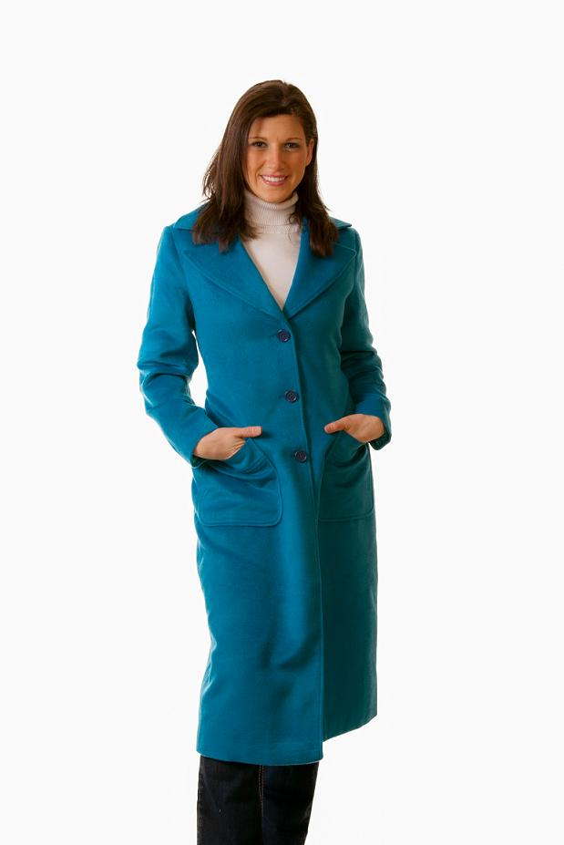 Women Single Breasted Maxi Coat