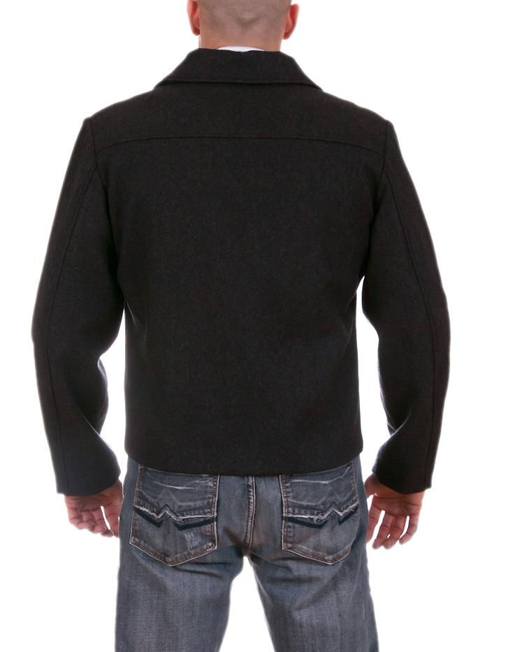 Mens Wool Blend Light weight Jacket