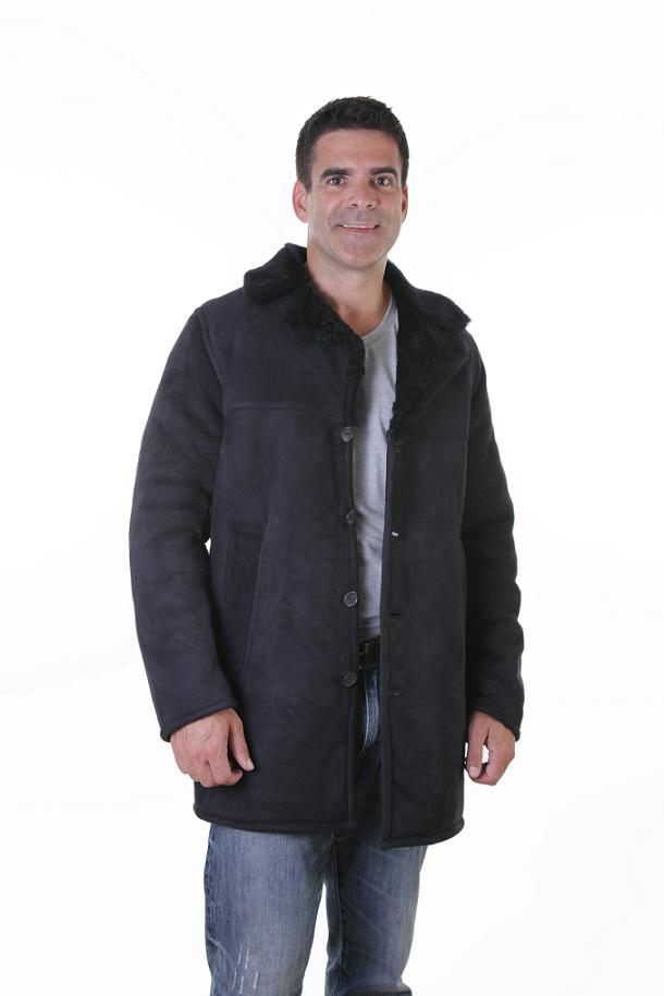 Lamb Shearling Car Coat