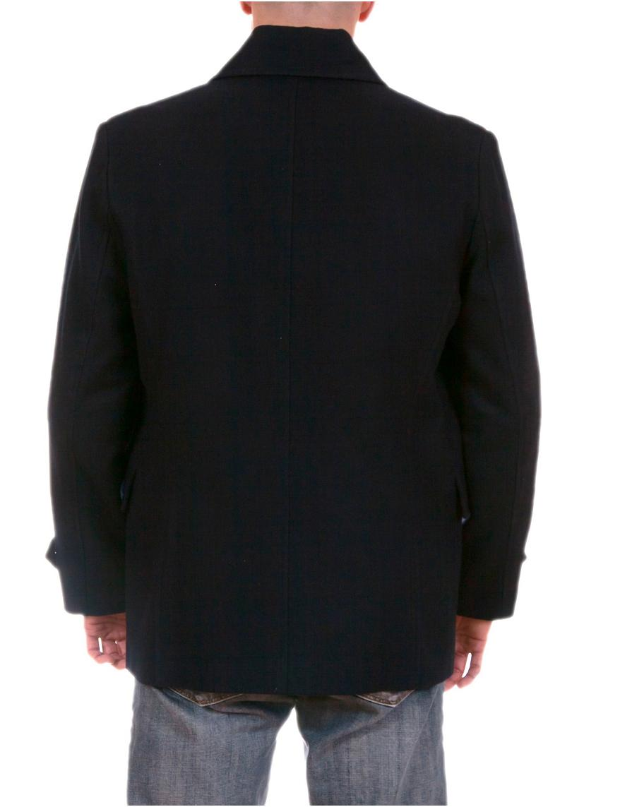 Mens Wool Car Coat