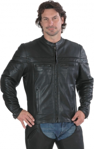Retro fitted Biker Jacket