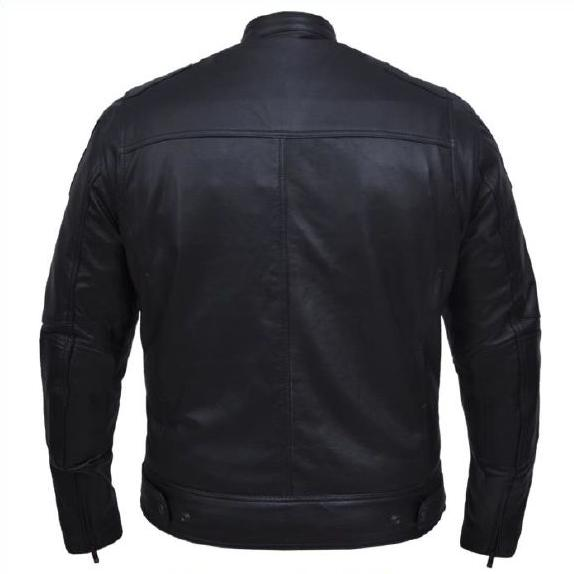 Men's Premium Leather Jacket (Avail. Online Only)