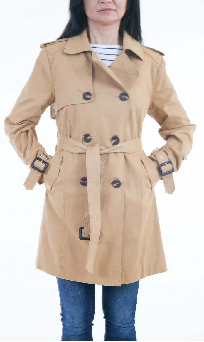 Lee Cobb Belted Trench Coat