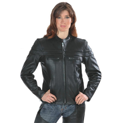 Ladies Moto Biker Jacket