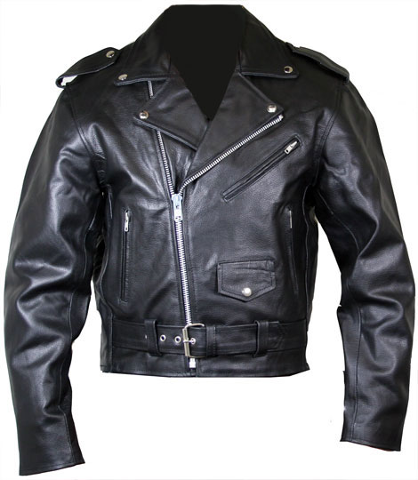 Classic Motocycle Jacket (Avail. Online Only)
