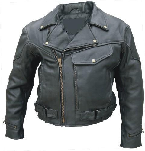 Motocross Leather Biker Jacket (Avail. Online Only)
