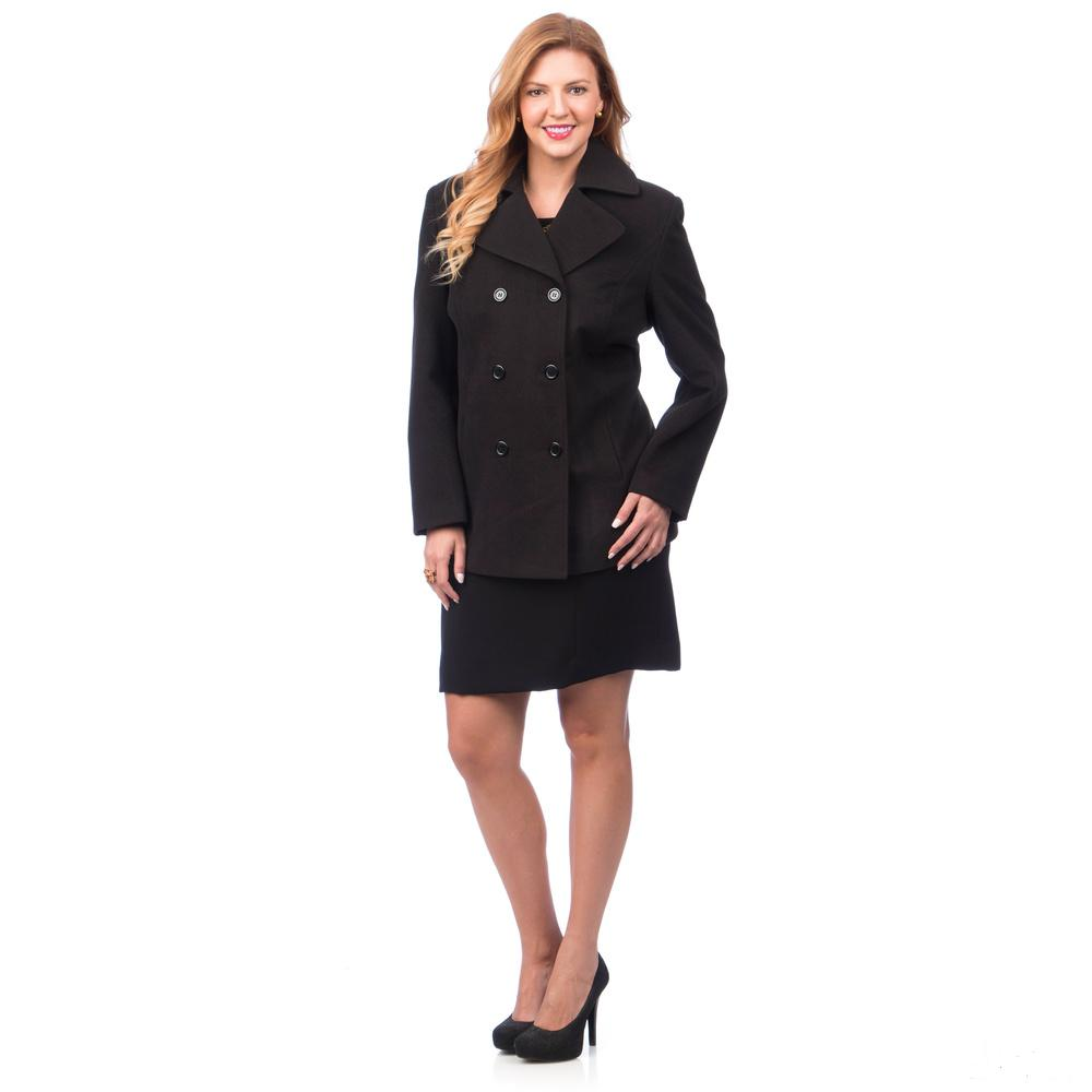 Pea Coat Plus Size
